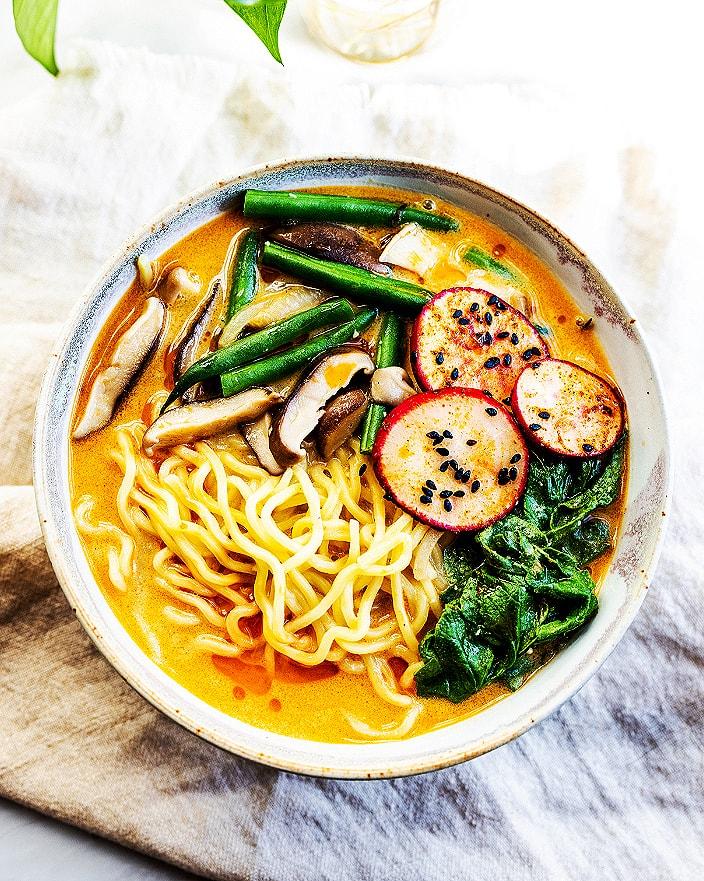 Vegan Radish Top Miso Ramen_MidPage
