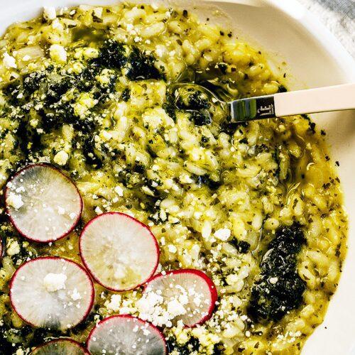 Green Risotto_Easy Salsa Verde Risotto_MidPage – 1