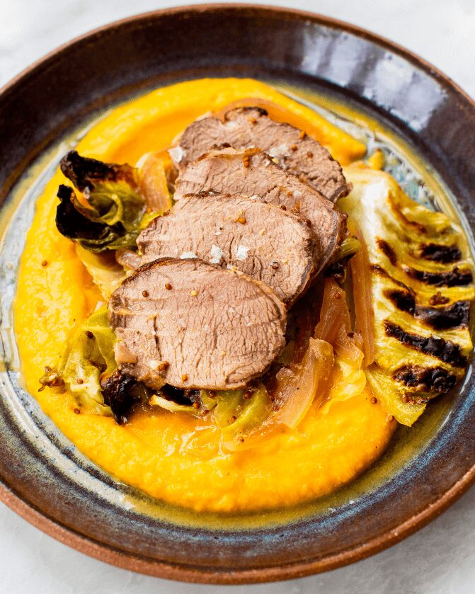 Maple-Dijon Pork and Cabbage_MidPage