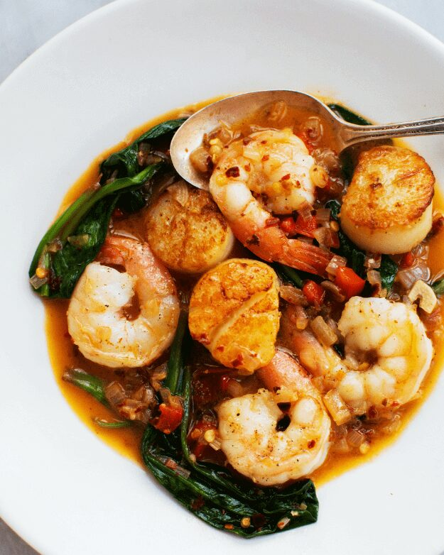 Shrimp and Scallops with Ramps_MidPage