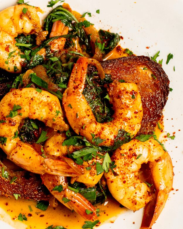 Spicy Aleppo Pepper Shrimp Toast_MidPage