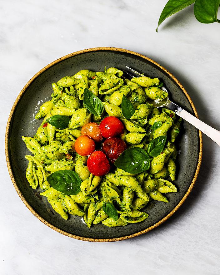 Arugula Pesto Pasta_MidPage