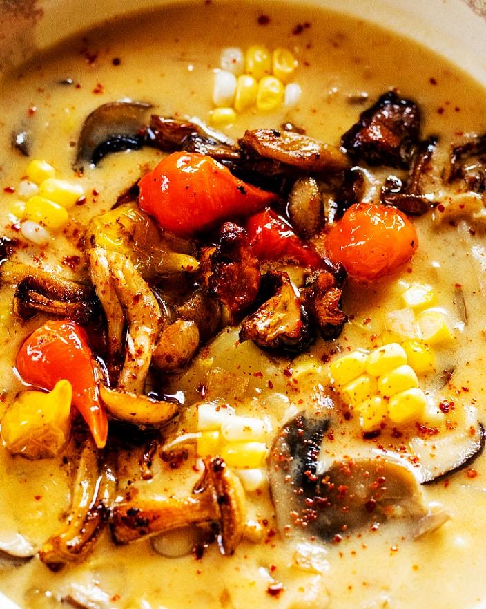 Mushroom Corn Chowder_MidPage – 1@2x
