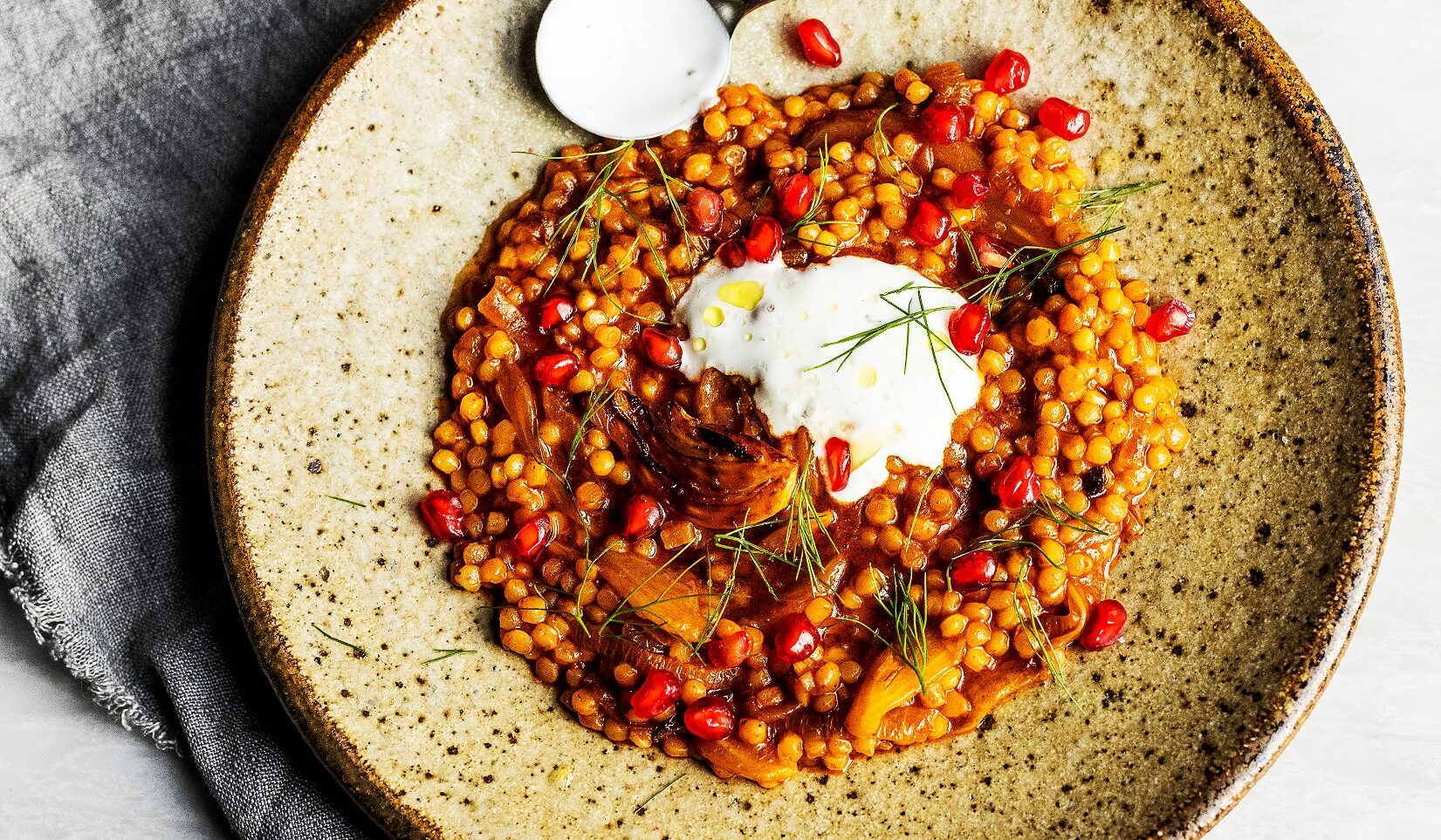 Harissa Couscous with Fennel_Hero