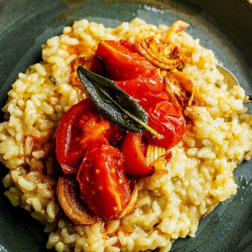 Sage Risotto with Fennel_MidPage